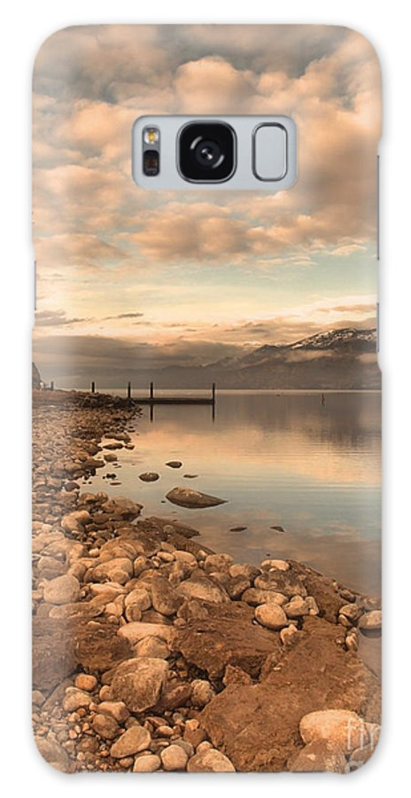 Clouds Galaxy S8 Case featuring the photograph Clouds And Calmness by Tara Turner
