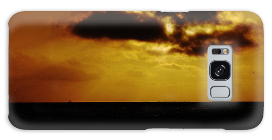 Clay Galaxy Case featuring the photograph Clouds Over The Ocean by Clayton Bruster