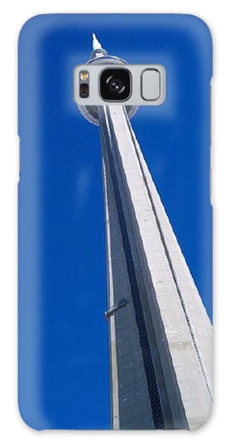 Landscape Galaxy S8 Case featuring the photograph Cn Tower by Debbie Levene