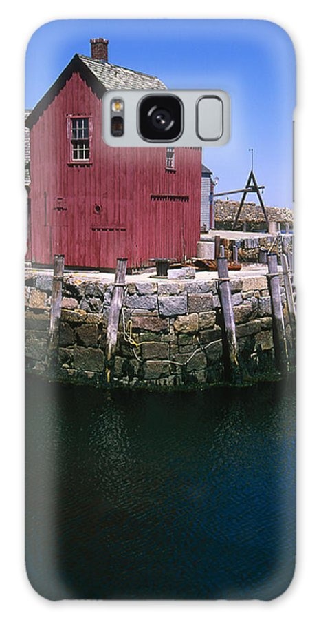 Landscape New England Rockport Motif Number 1 Galaxy S8 Case featuring the photograph Cnrf0506 by Henry Butz