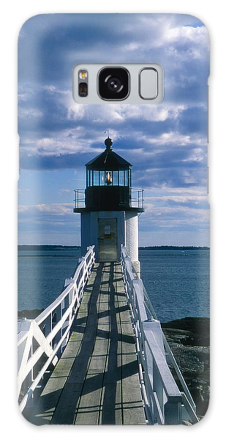 Landscape Lighthouse New England Marshall Point Light Port Clyde Galaxy S8 Case featuring the photograph Cnrh0603 by Henry Butz