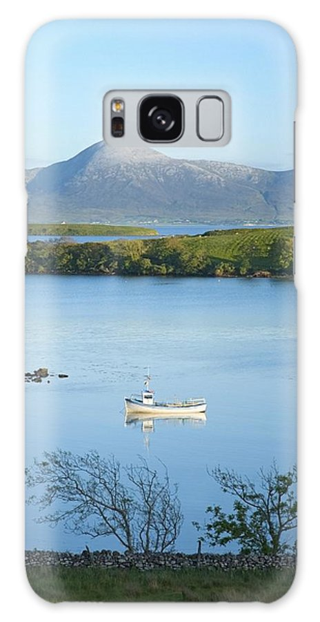 Day Galaxy S8 Case featuring the photograph Co Mayo, Ireland Fishing Boat In Clew by Gareth McCormack