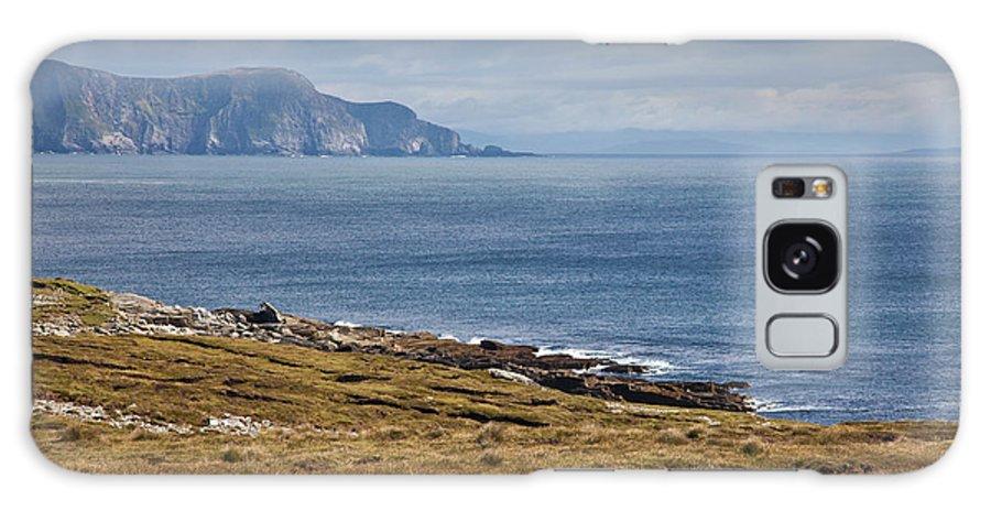 Mayo Coast Galaxy S8 Case featuring the photograph Coast Of Achill Island by Gabriela Insuratelu