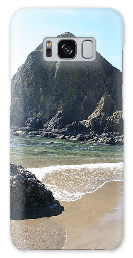 Coastal Landscape Galaxy S8 Case featuring the photograph Coastal Landscape - Cannon Beach Afternoon - Scenic Lanscape by Quin Sweetman