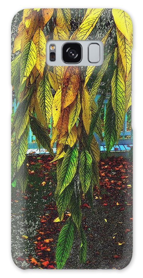 Autumn Galaxy S8 Case featuring the painting Coat Of Many Colors by RC DeWinter