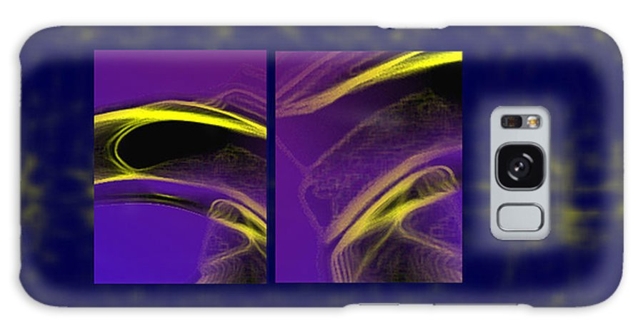 Abstract Galaxy S8 Case featuring the digital art Cobra by Steve Karol