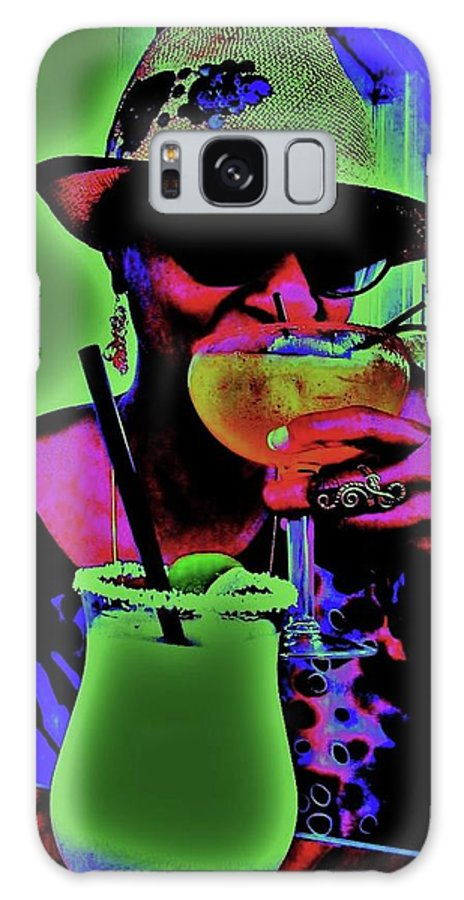 Cocktails Galaxy S8 Case featuring the photograph Cocktails Anyone by Diana Dearen