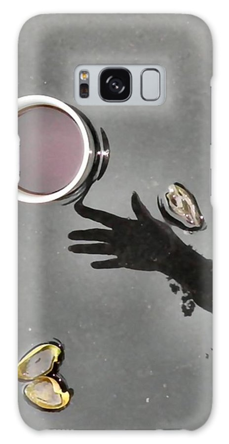 Coffee Galaxy S8 Case featuring the photograph Coffee On Black Top Pond No. 5 by T Cook