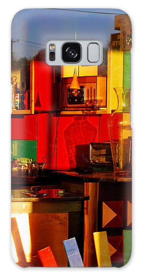 Skip Hunt Galaxy Case featuring the photograph Coffee Shop by Skip Hunt