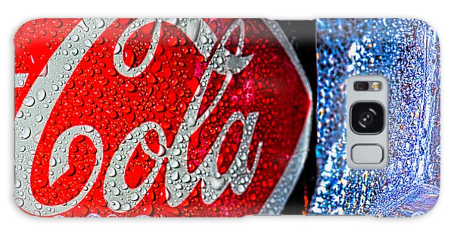 Coke Galaxy Case featuring the photograph Coke Cola by Bob Orsillo