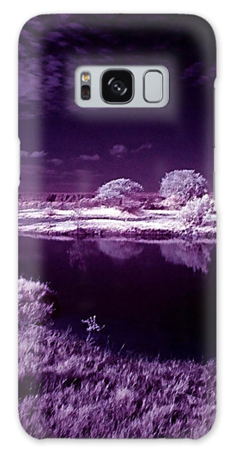 Infrared Galaxy S8 Case featuring the photograph Cold Landscape by Galeria Trompiz