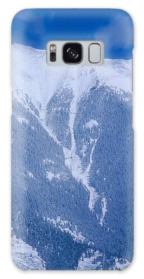 Mountain Galaxy S8 Case featuring the photograph Cold Mountain by Jerry McElroy