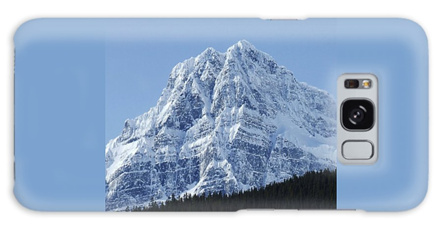 Cold Galaxy Case featuring the photograph Cold Mountain- Banff National Park by Tiffany Vest
