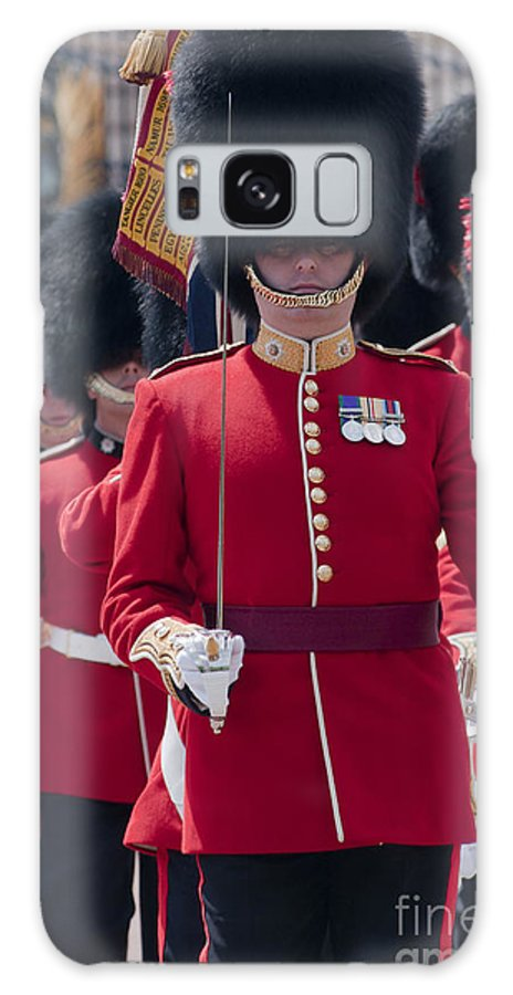 British Galaxy S8 Case featuring the photograph Coldstream Guards by Andrew Michael