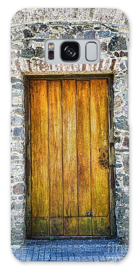 Colonia Ancient Walls Galaxy S8 Case featuring the photograph Colonia Old Door by Rick Bragan