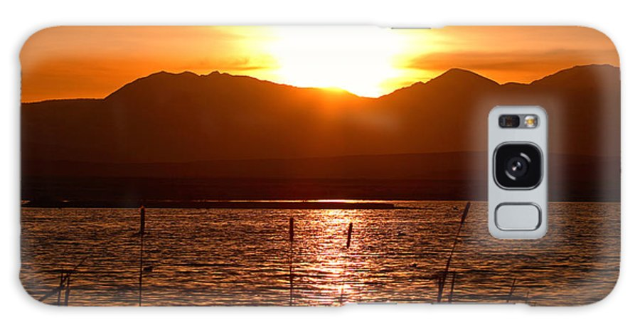 Colorado Galaxy Case featuring the photograph Colorado Marsh At Sunset by Max Allen