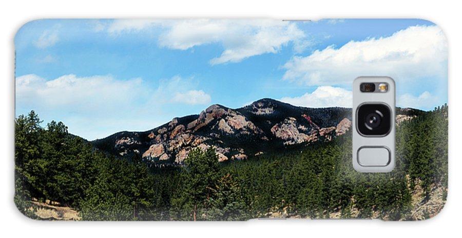 Colorado Galaxy S8 Case featuring the photograph Colorado Mountains by Angelina Vick