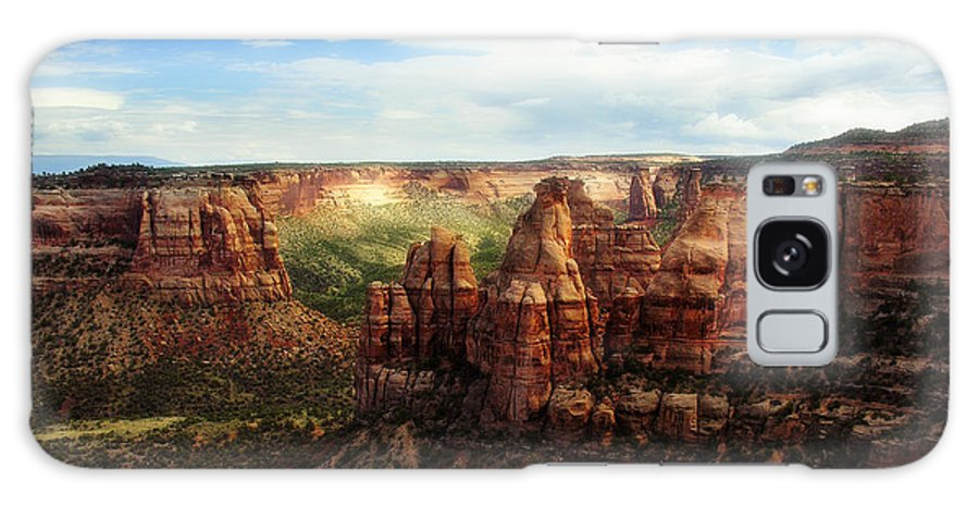 Americana Galaxy Case featuring the photograph Colorado National Monument by Marilyn Hunt