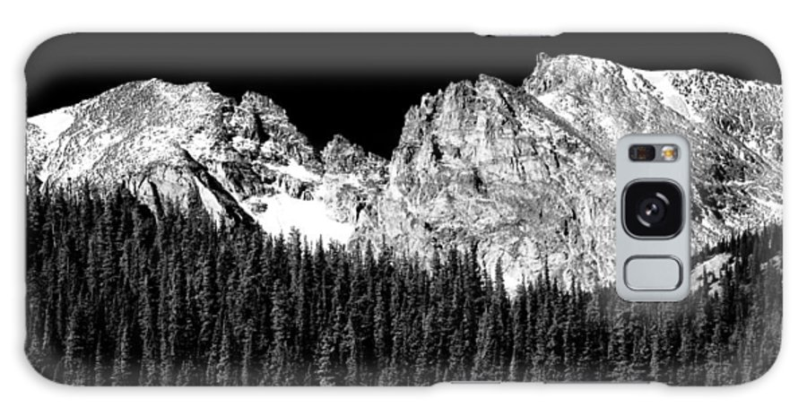 Indian Peaks Galaxy S8 Case featuring the photograph Colorado Rocky Mountains Indian Peaks Fine Art Bw Print by James BO Insogna
