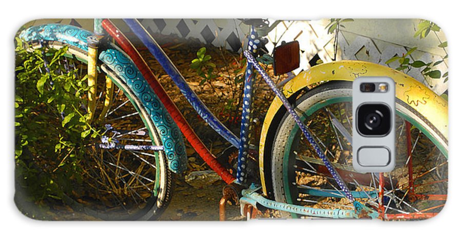 Bicycle Galaxy S8 Case featuring the photograph Colorful Bike by David Lee Thompson