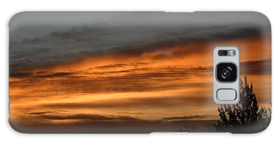 Dawn Galaxy S8 Case featuring the photograph Colorful Clouds In Dawn Sky by Kent Lorentzen