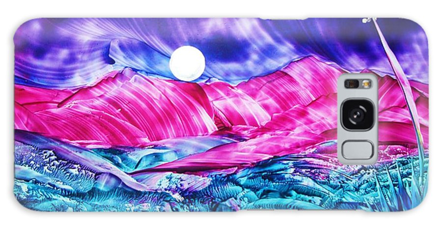 Bold Galaxy S8 Case featuring the print Colorful Desert by Melinda Etzold