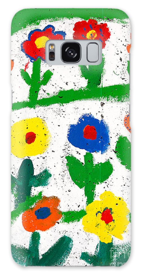 Flowers Galaxy S8 Case featuring the photograph Colorful Garden by Gaspar Avila