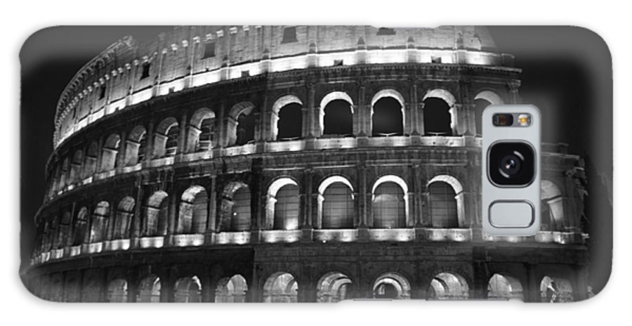 Italy Galaxy S8 Case featuring the photograph Colosseum by Kathy Schumann