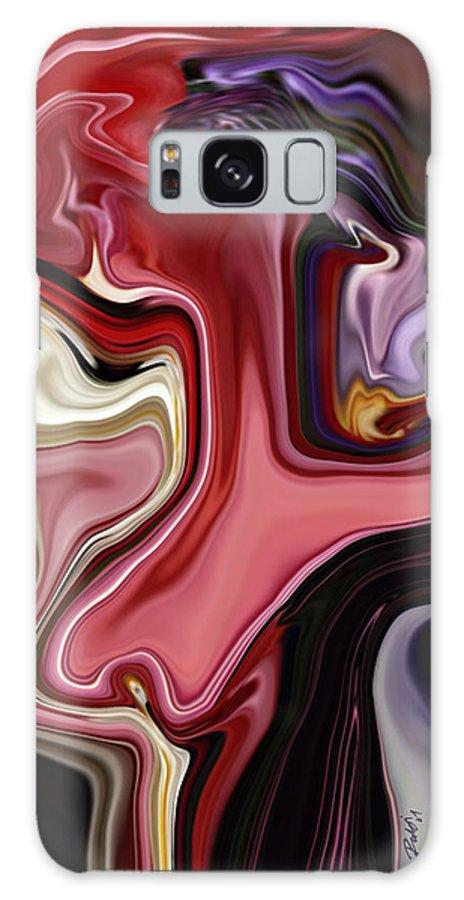 Colour Galaxy S8 Case featuring the digital art Colour Hair Day by Rabi Khan