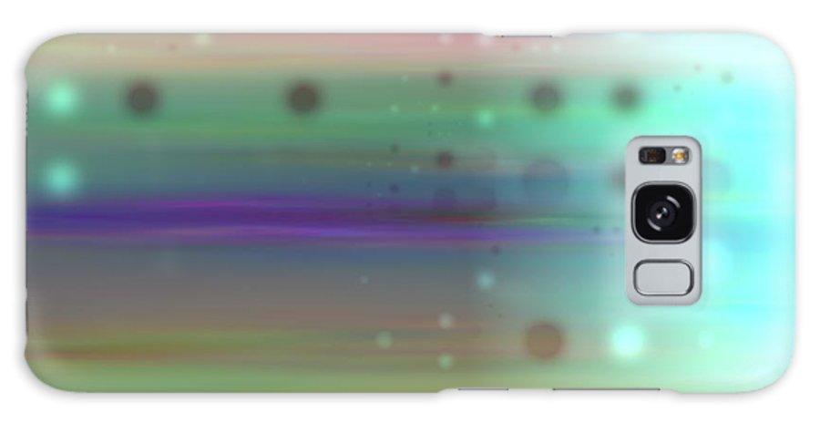 Art Digital Art Galaxy S8 Case featuring the digital art Colour18mlv - Impressions by Alex Porter