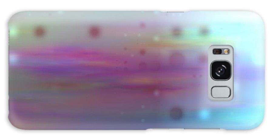 Art Digital Art Galaxy S8 Case featuring the digital art Colour20mlv - Impressions by Alex Porter