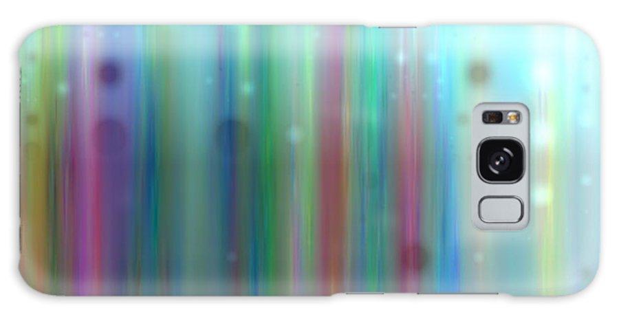 Art Digital Art Galaxy S8 Case featuring the digital art Colour9mlv - Impressions by Alex Porter