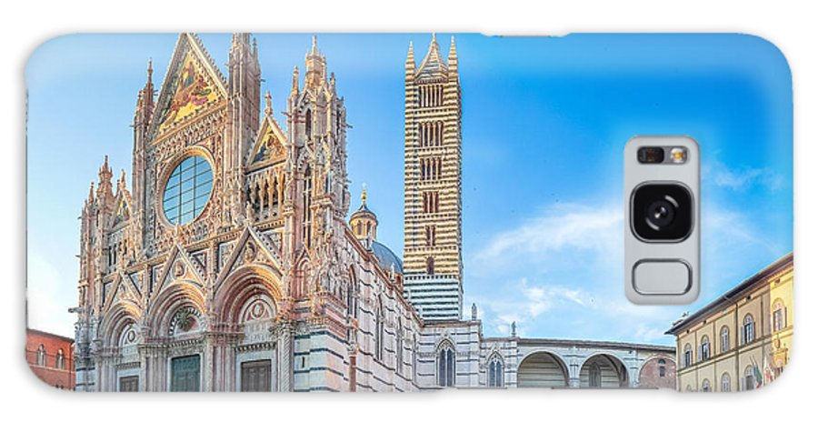 Cattedrale Di Santa Maria Assunta Galaxy S8 Case featuring the photograph Colourful Siena Cathedral by JR Photography