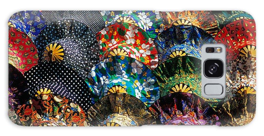 Asia Galaxy S8 Case featuring the photograph Colourful Umbrellas Bangkok Thailand by Petr Svarc