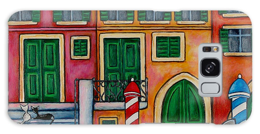 Venice Galaxy S8 Case featuring the painting Colours Of Venice by Lisa Lorenz