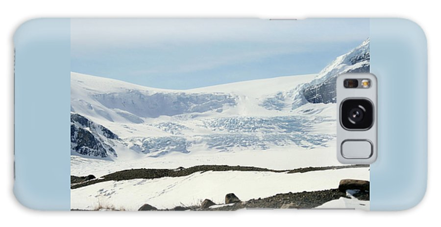 Glacier Galaxy S8 Case featuring the photograph Columbia Icefields by Tiffany Vest