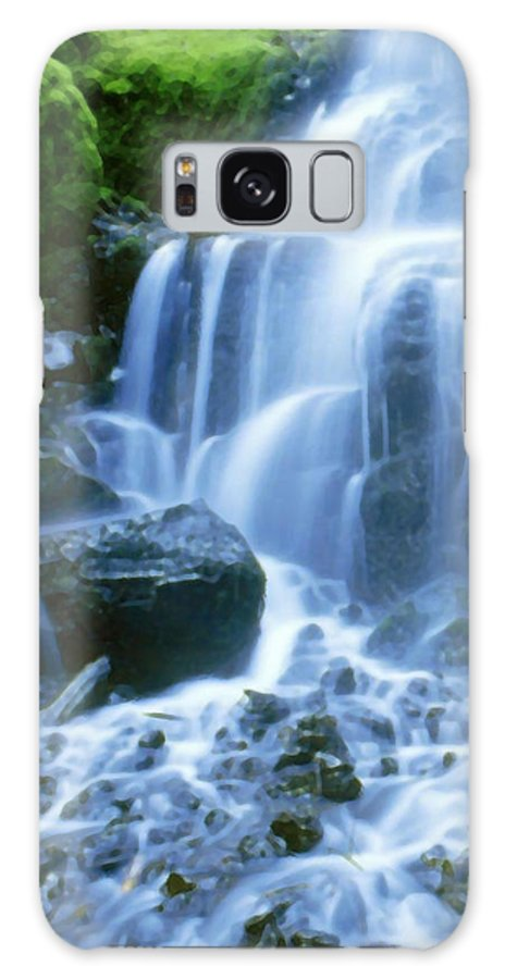 Landscape Galaxy S8 Case featuring the photograph Columbia River by Vicky Brago-Mitchell