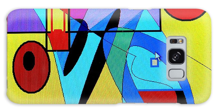 Horn Galaxy Case featuring the digital art Come Blow Your Horn by Ian MacDonald