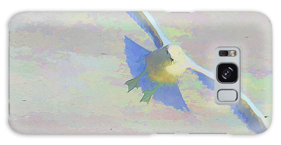 Bird Galaxy S8 Case featuring the photograph Coming In by Deborah Benoit