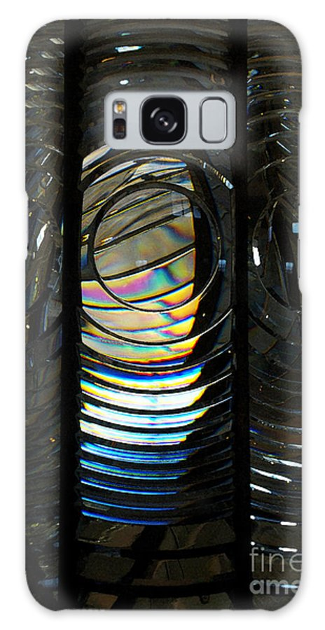 Abstract Galaxy S8 Case featuring the photograph Concentric Glass Prisms - Water Color by Linda Shafer