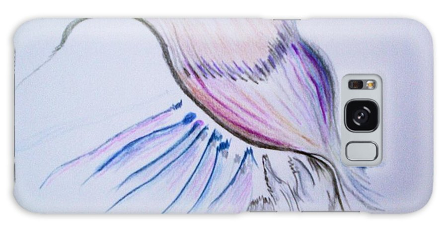Abstract Painting Galaxy S8 Case featuring the painting Conception by Suzanne Udell Levinger