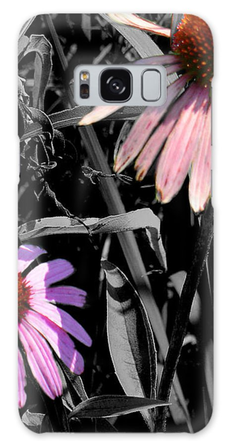 Purple Cone Flower Galaxy S8 Case featuring the photograph Cone Flower Tapestry by Steve Karol
