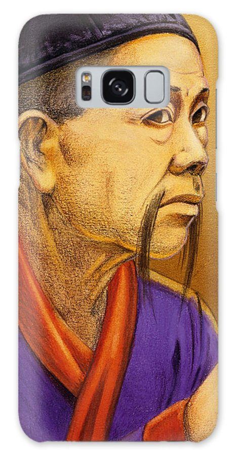 Oriental Galaxy Case featuring the painting Confucian Sage by Melissa A Benson