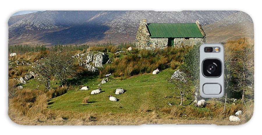 Ireland Galaxy S8 Case featuring the photograph Connemara Cottage Ireland by Pierre Leclerc Photography