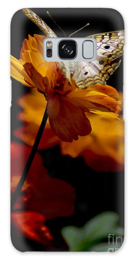 Butterflies Galaxy S8 Case featuring the photograph Contemplation by Mark Kryzaniak