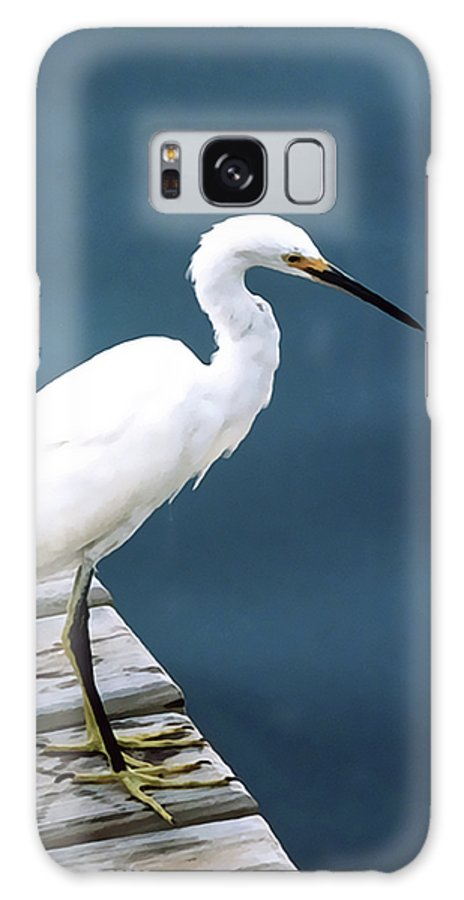 Bird Galaxy S8 Case featuring the photograph Contemplation by Terry Fiala