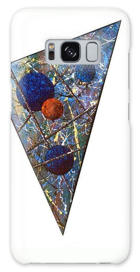 Abstract Galaxy Case featuring the painting Continuum 3 by Micah Guenther