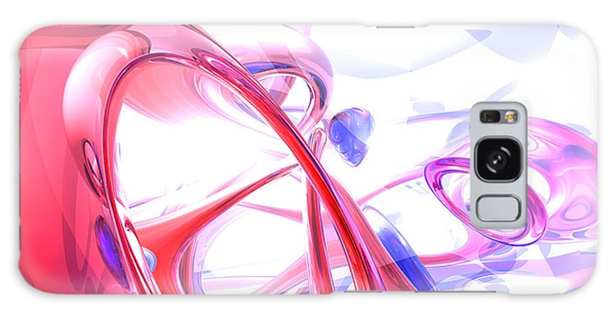 3d Galaxy S8 Case featuring the digital art Contortion Abstract by Alexander Butler