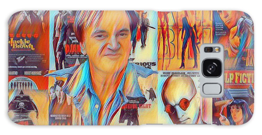Quentin Galaxy S8 Case featuring the photograph Cool Tarantino by Pd
