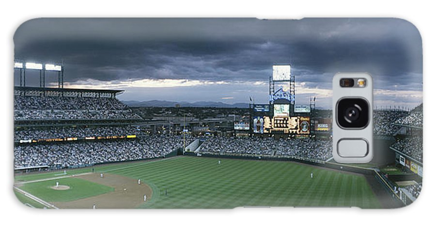 North America Galaxy S8 Case featuring the photograph Coors Field, Denver, Colorado by Michael S. Lewis